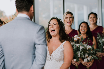 The best - laughing Bride